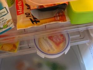 Camembert na geladeira