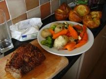 Sunday Roast em casa