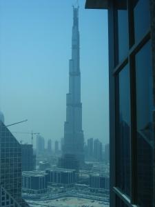 Burj Dubai e seus 160+ andares