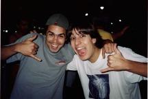 Claudiomiro e Thiago Reimao